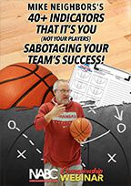 Mike Neighbors: 40+ Indicators that It's You (Not Your Players) Sabotaging Your Team's Success!