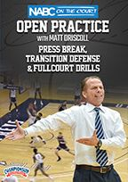 NABC On the Court Open Practice with Matt Driscoll: Press Break, Transition Defense & Full-Court Drills