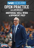 NABC On the Court Open Practice with Jim Boeheim: Individual Skill Work & Opponent Prep