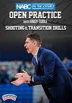 NABC On the Court Open Practice with Andy Toole: Shooting & Transition Drills