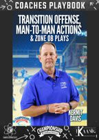 Transition Offense, Man-to-Man Actions, and Zone OB Plays Playbook