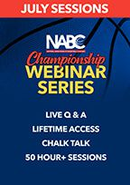 NABC Championship Webinar Series - July Sessions